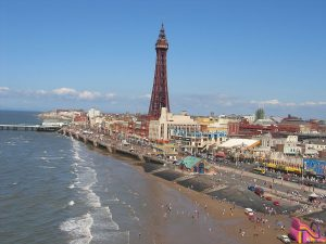 photograph of blackpool