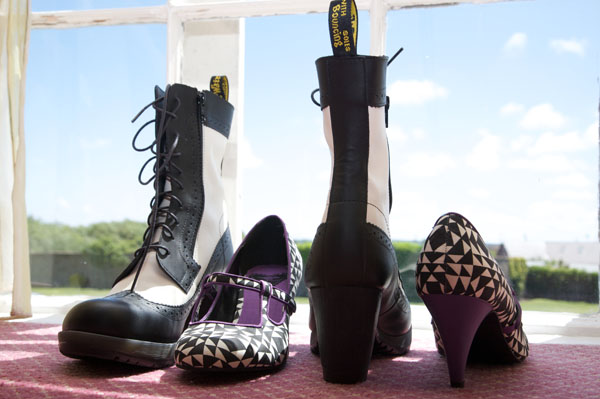 lesbian wedding shoes and boots