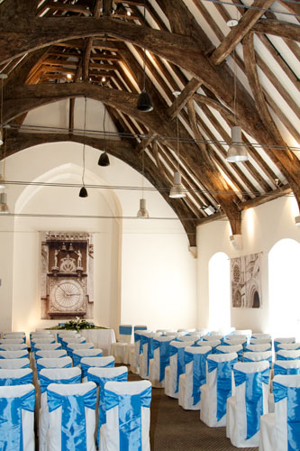 wedding hall with seats