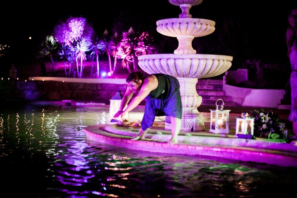 algarve rebecca weddings night fountain