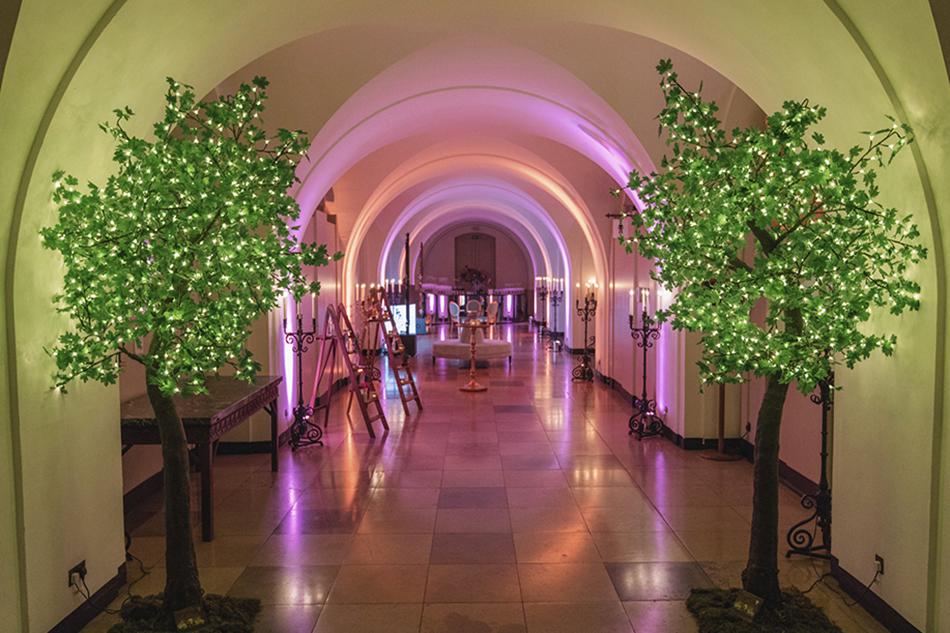 banqueting house corridor