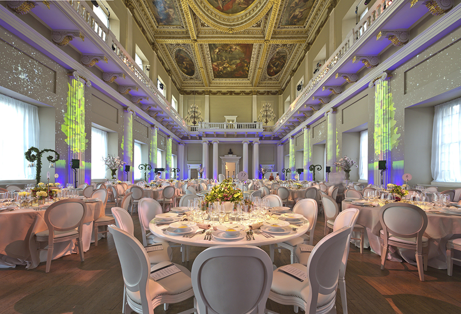 banqueting house wedding dining