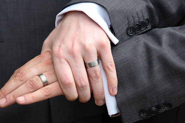gay men wedding rings