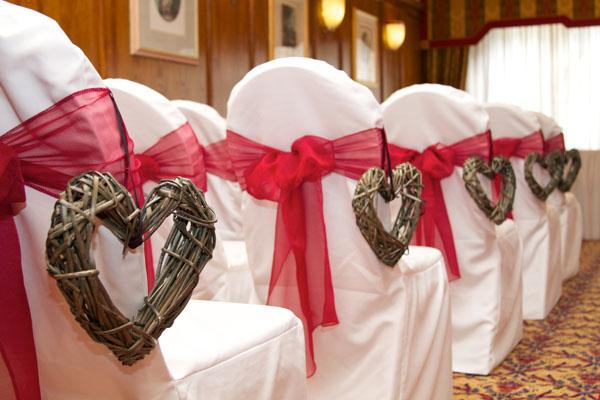 hearts wedding theme