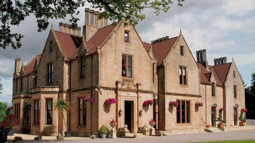 glenbervie house gay wedding venue scotland main view