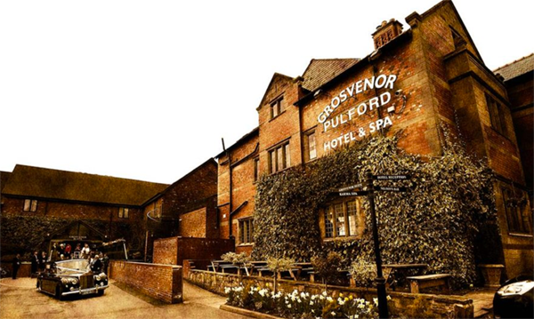 grosvenor hotel gay wedding venue chester