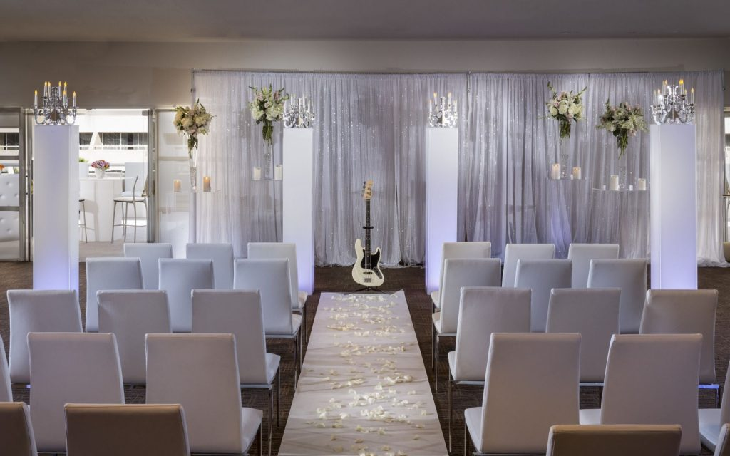 hard rock hotel gay wedding venue
