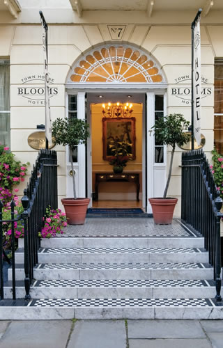 grange blooms hotel entrance gay wedding venue london